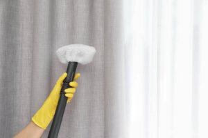чистка штор